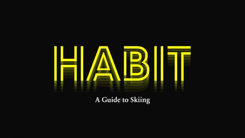 Habit A Guide to Skiing Level 1 Title Card