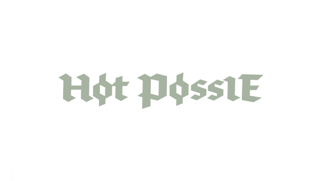 Hot Possie Høt Pøssie Logo