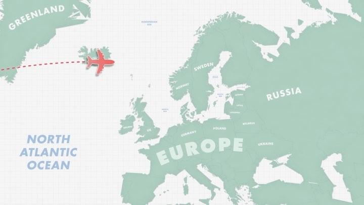 Baltic Ski Map Animation