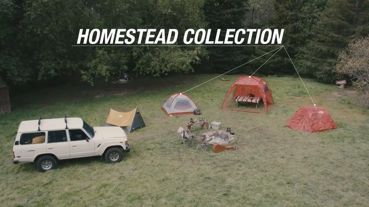 The North Face Homestead Collection Animation