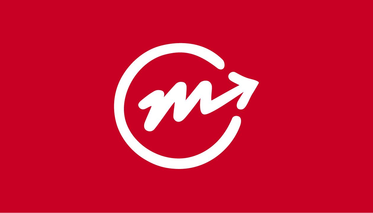 Moving Forward Icon_Crimson Red